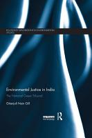 Environmental Justice in India PDF