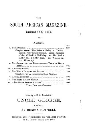 The South African Magazine PDF