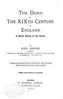 The Dawn of the XIXth Century in England PDF