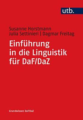 Einf  hrung in die Linguistik f  r DaF DaZ PDF