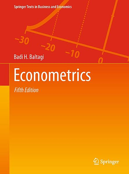 Econometrics PDF