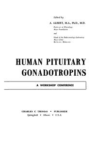 Human Pituitary Gonadotropins