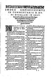 Commentarius in regulas iuris Pontificii