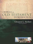 A Survey of Old Testament Introduction Book