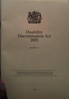Disability Discrimination Act 2005