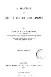 Manual of Diet in Health and Disease