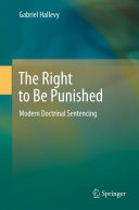 The Right to Be Punished