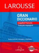Grand dictionnaire espagnol fran  ais  fran  ais espagnol PDF