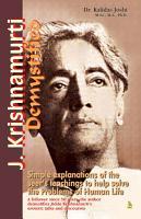 J  Krishnamurthy Demystified PDF