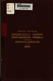 Transactions of the New York Odontological Society