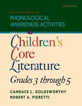 Sourcebook of Phonological Awareness Activities, Volume III Children's Classic: Literature, Grades 3 to 5: Edition 2