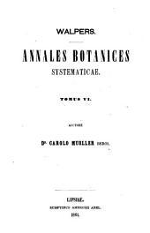 Synopsis plantarum phanerogamicarum novarum omnium per annos 1851 - 1855 descriptarum