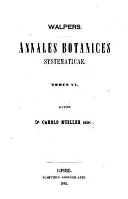 Synopsis plantarum phanerogamicarum novarum omnium per annos 1851   1855 descriptarum PDF