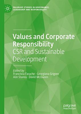 Values and Corporate Responsibility