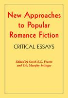 New Approaches to Popular Romance Fiction PDF