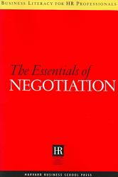 The Essentials Of Negotiation Book PDF