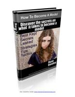 How To Become A Model PDF
