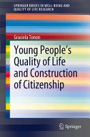Young People s Quality of Life and Construction of Citizenship PDF