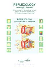 REFLEXOLOGY on the backside of the HANDS: REFLEXOLOGY - the maps of health