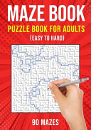Maze Puzzle Books for Adults & Teens
