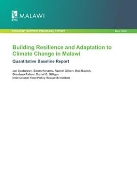 Building resilience and adaptation to climate change in Malawi  Quantitative baseline report PDF