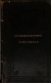 Select [Backhouse] family memoirs