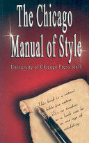 The Chicago Manual of Style by University PDF