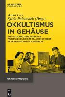 Okkultismus im Geh  use PDF