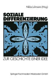 Soziale Differenzierung: Zur Geschichte einer Idee