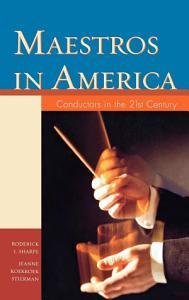 Maestros in America PDF