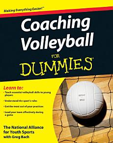 Coaching Volleyball For Dummies PDF