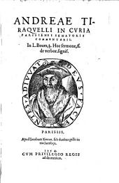 Commentarii in L. Boves § Hoc Sermone ff de verbor. signis