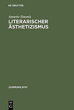Literarischer   sthetizismus PDF