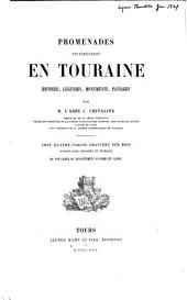 Promenades pittoresques en Touraine: Histoire, légendes, monuments, paysages
