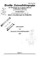 Deutsche Nationalbibliographie und Bibliographie der im Ausland erschienenen deutschsprachigen Schrifttums PDF