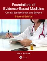 Foundations of Evidence Based Medicine PDF