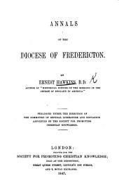Annals of the Diocese of Fredericton
