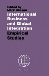 International Business and Global Integration: Empirical Studies