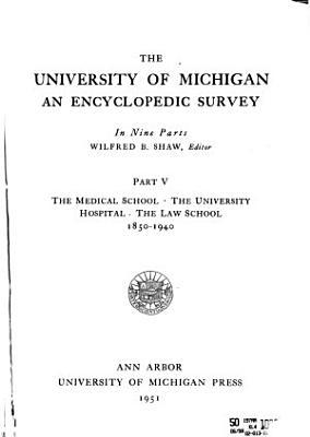 The University of Michigan  an Encyclopedic Survey     PDF