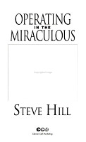 Operating in the Miraculous PDF