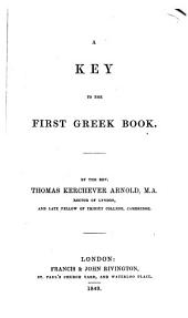 The first Greek book. [With] Key: Volume 1