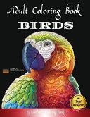 Adult Coloring Boosk Birds