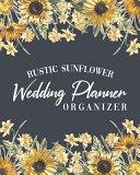 Rustic Sunflower Wedding Planner Organizer