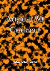 August 30 Concert