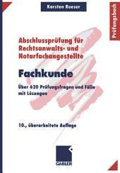 Fachkunde: Über 620 Prüfungsfragen und Fälle mit Lösungen, Ausgabe 10