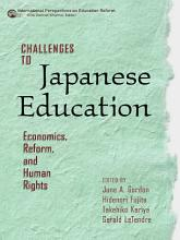 Challenges to Japanese Education PDF