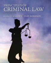 Principles of Criminal Law: Edition 5
