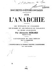 Documents sur l'anarchie