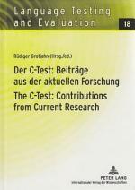 Der C-Test: Beiträge aus der aktuellen Forschung