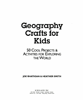 Geography crafts for kids PDF